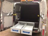 Tool Racking for Vans ford Transit Custom L2 sortimo Xl Drawer System and False Floor