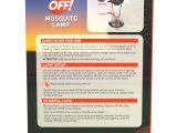 Touch Lamp Bulbs Walmart Off Mosquito Lamp Starter Kit 0 029 Ounces Walmart Com