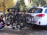 Tow Hitch Bike Rack Subaru Crosstrek Subaru and Thule Bike Rack Review Youtube