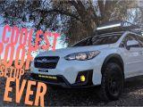 Tow Hitch Bike Rack Subaru Crosstrek the Best 2018 Subaru Crosstrek Roof Rack Setup Ever Youtube