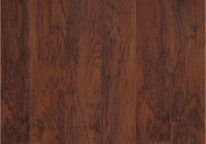 Trafficmaster Glueless Laminate Flooring Ainsley Oak Trafficmaster Dark Brown Hickory 7 Mm Thick X 8 1 32 In Wide X 47 5