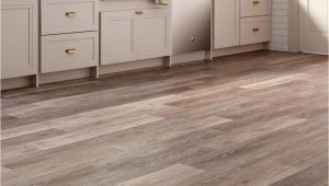 Trafficmaster Grip Strip Flooring Trafficmaster Allure 6 In X 36 In Brushed Oak Taupe Luxury Vinyl