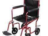 Transport Chair Walgreens Drive Medical Flyweight Lightweight Transport Wheelchair with
