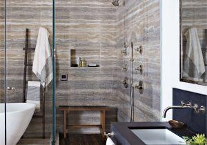 Travertine Design Ideas Bathroom In the Master Bath Silver Travertine Was Installed so Its Veins and
