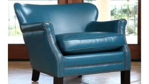 Turquoise Leather Accent Chair Chair todaysale Bedford Turquoise Bonded Leather Tub
