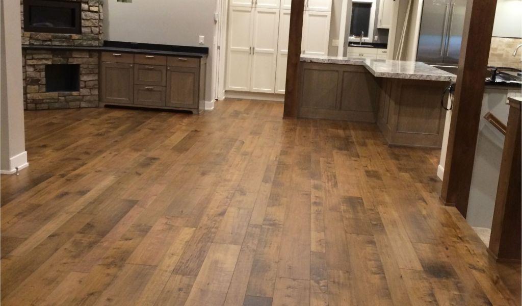 Tuscan Family Oak White Washed Engineered Wood Flooring Monterey