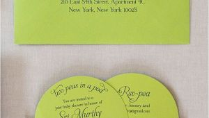 Two Peas In A Pod Twin Baby Shower Decorations 3 Unique Baby Shower Ideas Shower Invitations Twins and Babies