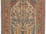 Types Of Antique oriental Rugs Tabriz Tree Of Life Antique Persian Rug Circa 1900 Elegant Animal