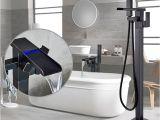 Types Of Bathtub Fixtures Newly Chrome Polished Led Bath Tub Faucet Floor Type