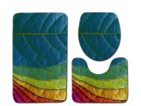 Types Of Bathtub Mats Free Shipping 3pcs Color Leaves Banyo Bathroom Carpet