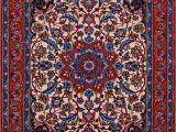 Types Of oriental Rugs Buy Esfahan Persian Rug 2 4 X 3 2 Authentic Esfahan Handmade
