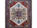 Types Of oriental Rugs Finerugcollection Handmade Serapi Navy Wool oriental Rug 8 1 X 10 2