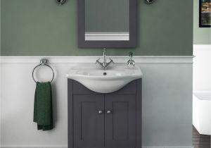Uk Bathrooms Vanity Units Carolla Vanity Unit and Basin Charcoal Grey Buy Line at