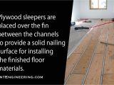 Under Floor Radiant Heat Panels Radiant Heated Floor Installation with thermofin U and Pex Tubing