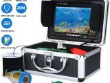 Underwater Lights for Fishing Gamwater 7hd 1000tvl Waterproof Underwater Fishing Video Camera Kit