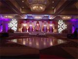 Up Lighting for Weddings Custom Designed Textured Patterns Uplighting Monogram Wedding