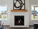 Using Quartz for Fireplace Surround White Shiplap Fireplace Surround with Wood Mantle Woodsman 11
