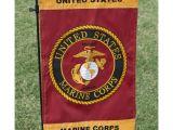 Usmc Garden Flag Red Gold Marine Corps Garden Flag