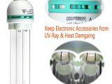 Uv Light for Ac Reviews Amazon Com Household Uv Ozone Self Ballasted Compact Quartz