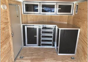 V Nose Enclosed Trailer Cabinets Beautiful V Nose Enclosed Trailer Cabinets