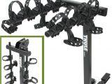 Vehicle Bicycle Rack Thule Hitching Post Pro Folding Tilting 4 Bike Rack W Anti Sway