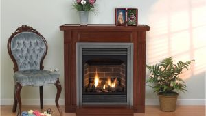 Ventless Gas Fireplace with Mantle Vail Fireplaces Vent Free White Mountain Hearth