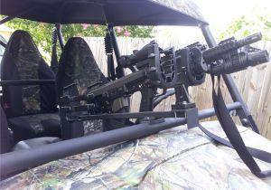 Vertical Gun Rack for Utv Front Rack Gun Mounts Kawasaki Teryx forum