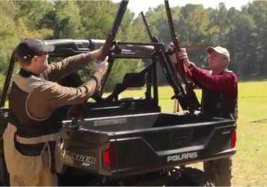 Vertical Gun Rack for Utv Great Day Sporting Clays Utv Gun Rack Tuckerrocky Youtube