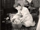 Victorian Baby Bathtub Woman Washing Baby 1905 who Hasn T Washed their Baby In