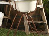 Vintage Baby Bathtub Vintage Baby Bath Tub with Floor Stand