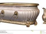 Vintage Bathtub Pictures Vintage Bathtub and Vase Stock Illustration Illustration