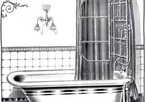 Vintage Bathtub Pictures Vintage Bathtub Printable the Graphics Fairy