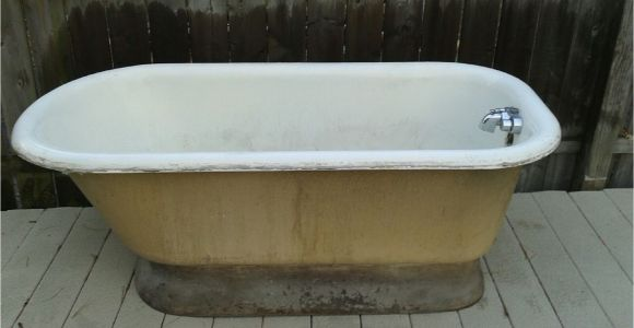 Vintage Bathtubs for Sale Cleveland Ohio Vintage Pedestal Bathtub for Sale 3