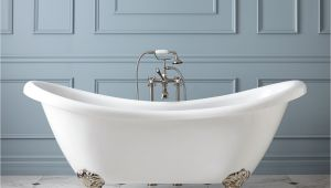 Vintage Claw Foot Bathtub Interior Design with Enytan Ideal Bathroom Tubs the