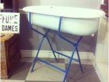Vintage Enamel Baby Bathtub Baby Bathtub Stand Foter