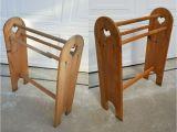 Vintage Wooden Blanket Rack Restored Vintage Quilt Holder 7 Steps with Pictures
