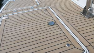 Vinyl Teak and Holly Flooring Teak and Holly Vinyl Marine Flooring Stock Pvc Marine Flooring Acai