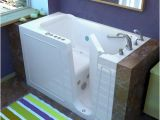 "Walk-in Bathtubs at Menards Meditub 30"" X53"" Right Drain White Hydrotherapy & Air"