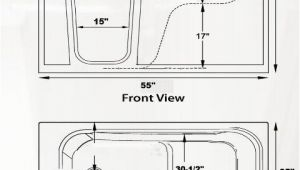 Walk-in Bathtubs Dimensions Handicap Walkintub Wide Texan 2 Sizes 33x54x40 35x54x40