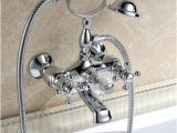 Wall Mount Faucet for Freestanding Bathtub Free Standing Tub Filler Faucets