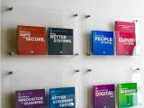 Wall Mounted Brochure Display Rack Wall Mounted Acrylic Leaflet Holders Pinterest Brochures A4 and