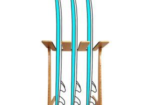 Wall Mounted Surfboard Rack Bamboo Surf Racks Sup Racks Ski Racks Bike Racks Skate Racks