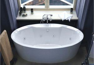 Water Jet Whirlpool Bathtub Poussin 34 X 68 Oval Freestanding Air & Whirlpool Water