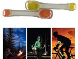 Wearable Led Lights Led Lighting Armband Belt Flashing Pvc Wrist Strap Wearable Running