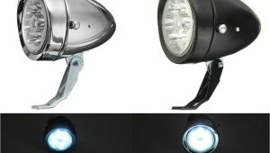 Wearable Led Lights Retro Vintage E Bike Bike Front Light Led Headlight Head Fog Lamp