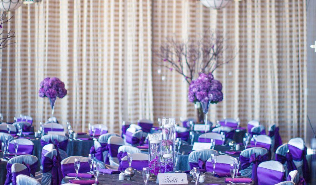Wedding Decoration Rentals Houston Texas Purple Reception Decor Ama