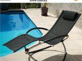 Wedo 0 Gravity Chair Black Deck Banana Chair Sun Lounger Rocker Chaise Zero Gravity Beach
