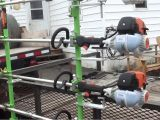 Weedeater Rack for Trailer Trailer Update New Pro Extreme Green touch Trimmer Racks Youtube