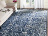 Westwood Accent Rug Bed Bath and Beyond Safavieh Evoke Vintage oriental Navy Blue Ivory Distressed Rug 6