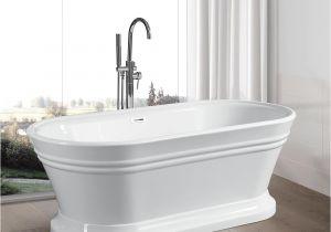 What is Freestanding Bathtub Vanity Art Versailles 59 In Acrylic Flatbottom